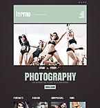 Art & Photography Website  Template 44404