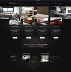 Furniture Website  Template 44407