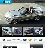 Cars Drupal  Template 44408
