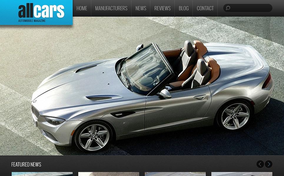Plantilla Drupal #44408 para Sitio de Coches New Screenshots BIG