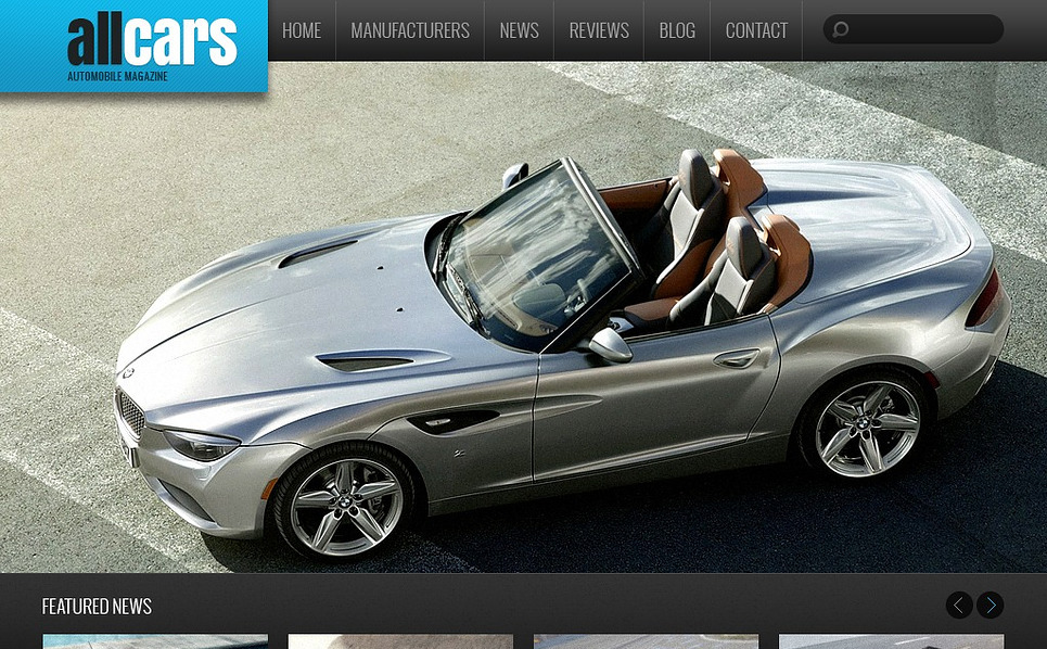 Szablon Drupal #44408 na temat: samochody New Screenshots BIG