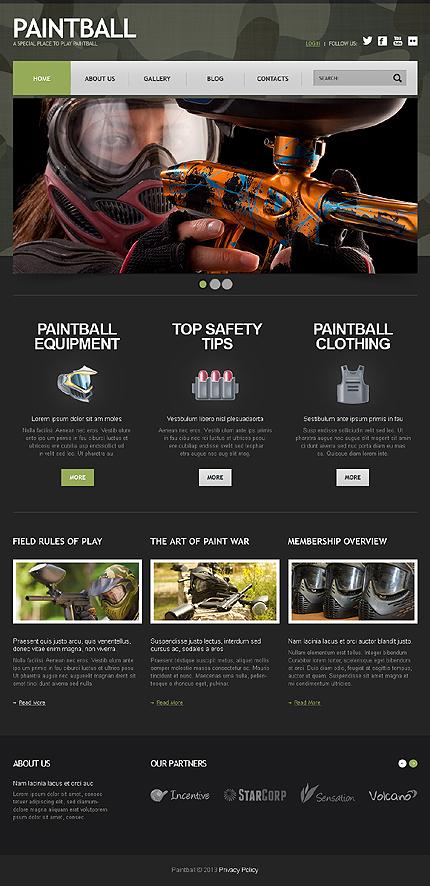 Joomla Theme/Template 44413 Main Page Screenshot