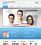 Education Website  Template 44424