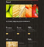 Agriculture Website  Template 44428