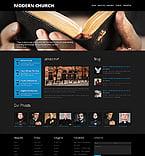 Religious Website  Template 44429