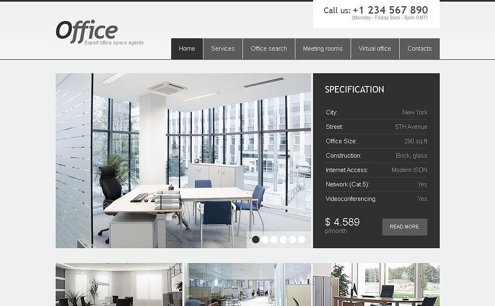 Luxusní Flash CMS šablona na téma Kancelář New Screenshots BIG