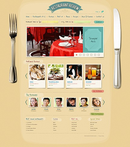 ADOBE Photoshop Template 44432 Home Page Screenshot