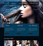 Art & Photography Moto CMS HTML  Template 44451