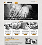 Charity Moto CMS HTML  Template 44456