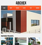 Architecture Facebook HTML CMS  Template 44473