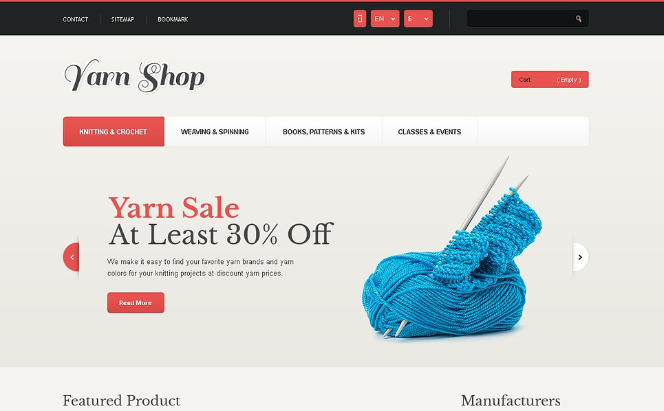 Thème PrestaShop adaptatif  pour magasin artisanal New Screenshots BIG
