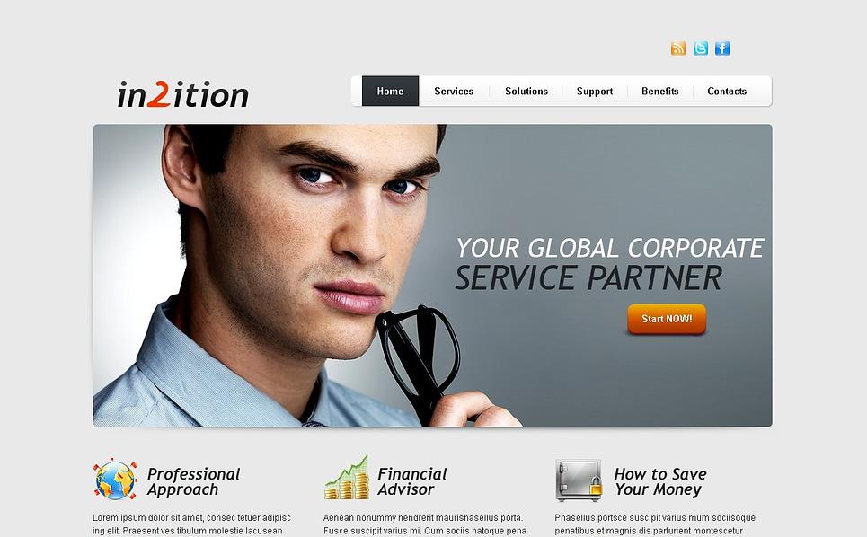 Template Web Flexível para Sites de Serviços comerciais №44498 New Screenshots BIG