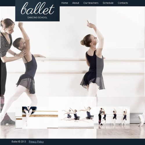 Ballet - Facebook HTML CMS Template