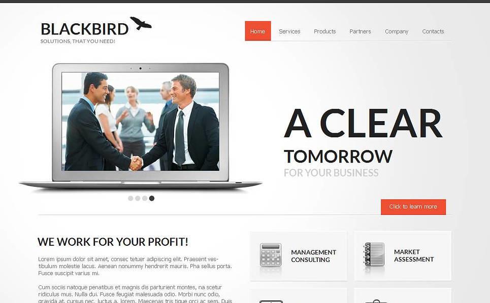 Szablon Moto CMS HTML #44458 na temat: agencja marketingowa New Screenshots BIG