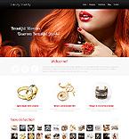 Jewelry Website  Template 44502