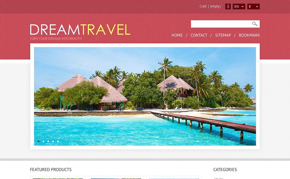 Responsywny szablon PrestaShop #44509 na temat: biuro podróży i turystyki New Screenshots BIG