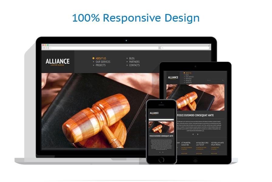 Legal HTML5 Themes