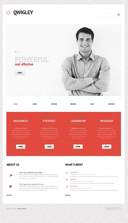 WordPress Theme/Template 44526 Main Page Screenshot