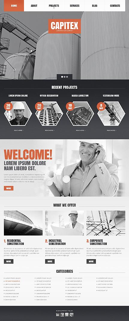 Drupal Template 44528 Main Page Screenshot