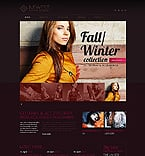 Fashion Website  Template 44530