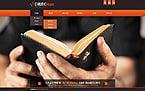Religious Website  Template 44538