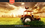 Agriculture Website  Template 44539
