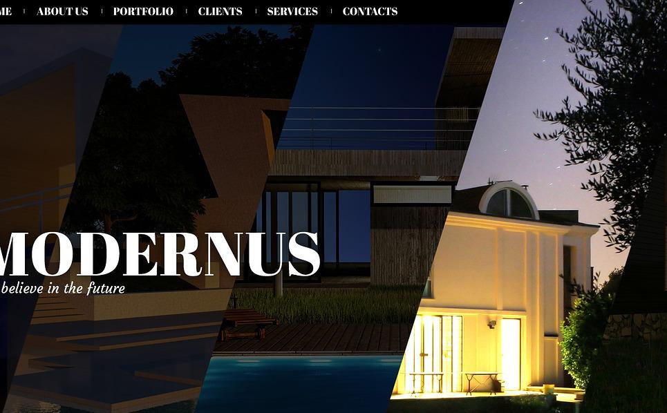 Tema Siti Web Bootstrap #44541 per Un Sito di Società di Costruzioni New Screenshots BIG