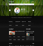 Agriculture Website  Template 44545