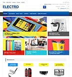 Electronics osCommerce  Template 44550