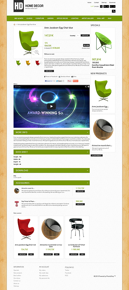 ADOBE Photoshop Template 44551 Home Page Screenshot