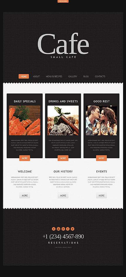Joomla Theme/Template 44559 Main Page Screenshot