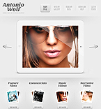 Art & Photography WordPress Template 44569