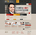 Politics Website  Template 44574