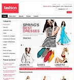 Fashion osCommerce  Template 44579