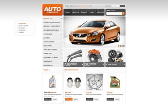 Auto Spare Parts VirtueMart Template