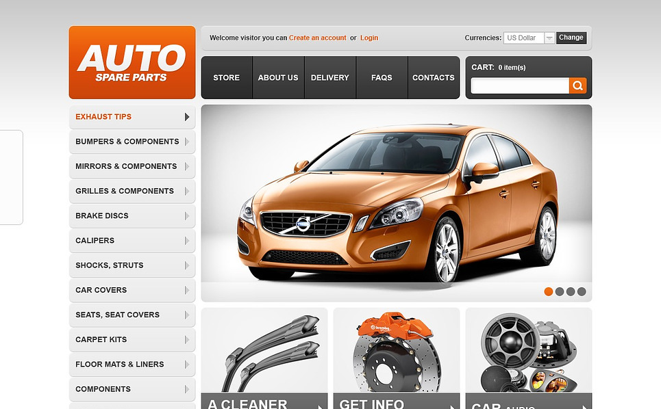 VirtueMart Template over Auto-onderdelen  New Screenshots BIG