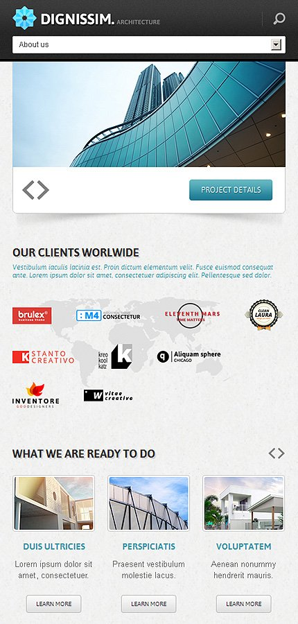 Joomla Theme/Template 44589 Main Page Screenshot