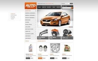 Auto Spare Parts VirtueMart Template