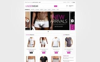 Brand Underwear VirtueMart Template