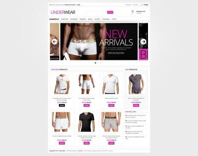 Men's Underwear VirtueMart Template
