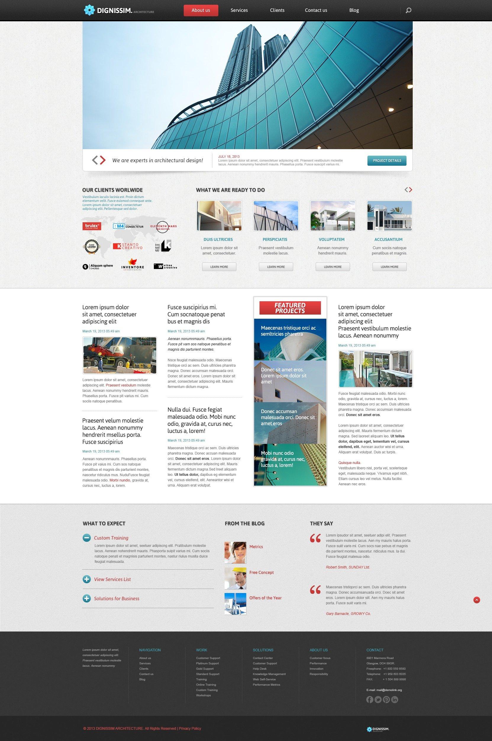 common architecture joomla template 44589. Black Bedroom Furniture Sets. Home Design Ideas