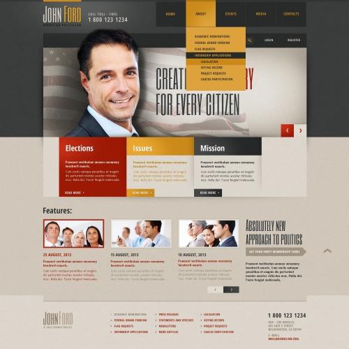 John Ford - Website Template based on Bootstrap