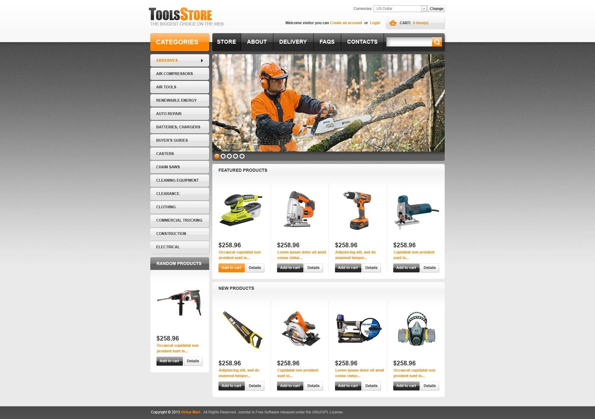 Tools Store Virtuemart #44552
