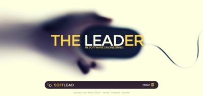Website Vorlage für Softwarefirma