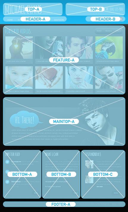 Joomla Theme/Template 44602 Main Page Screenshot