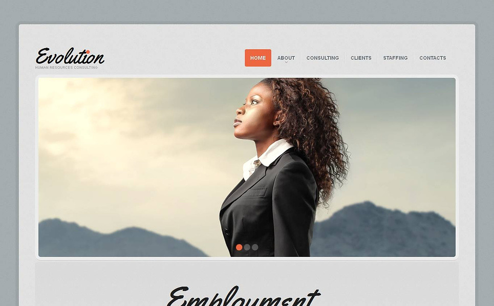 Template Moto CMS HTML para Sites de Portal de emprego №44607 New Screenshots BIG