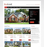 Real Estate Moto CMS HTML  Template 44618