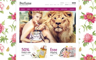 Elite Perfumes Store VirtueMart Template