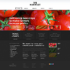 Agriculture Website  Template 44661
