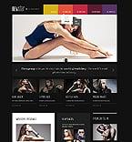 Fashion Website  Template 44663